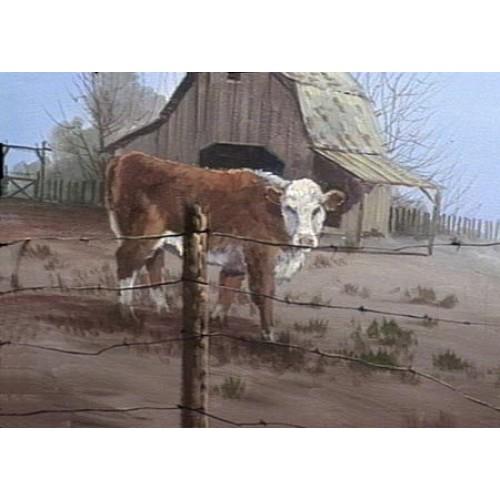 8871 BARNYARD COW